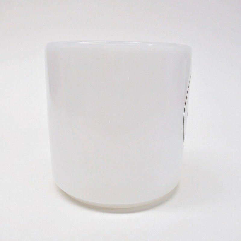 フェデラルグラス 白x黒 スマイルマグ A【画像2】