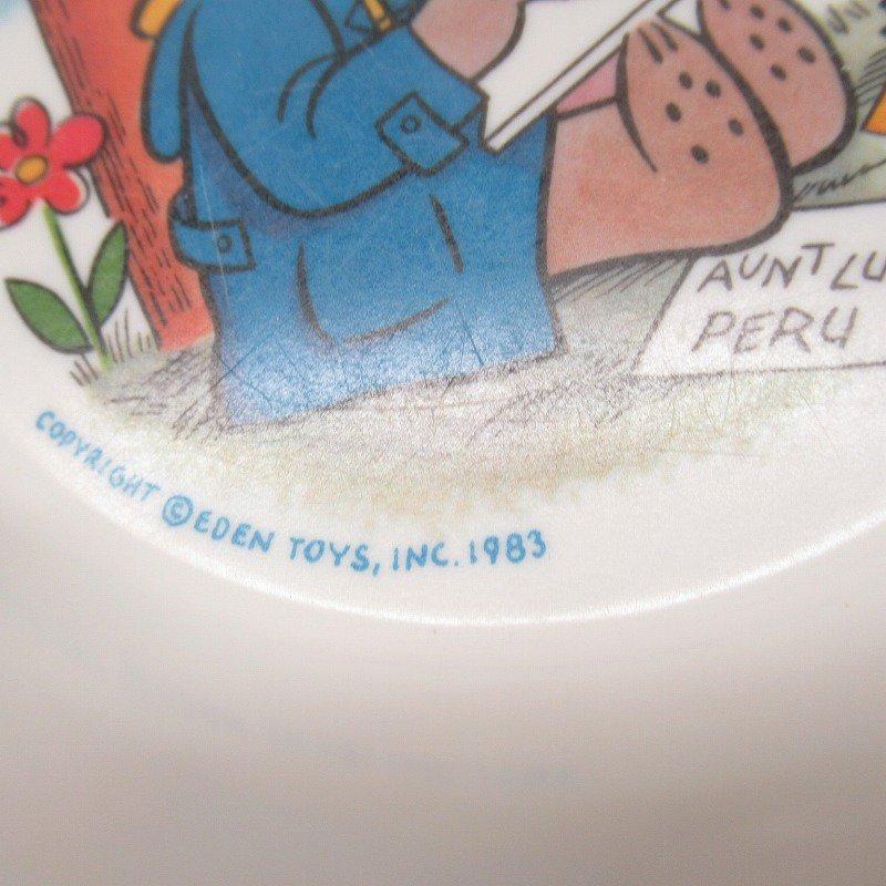 パディントン 1983年 プラスチックボウル【画像6】