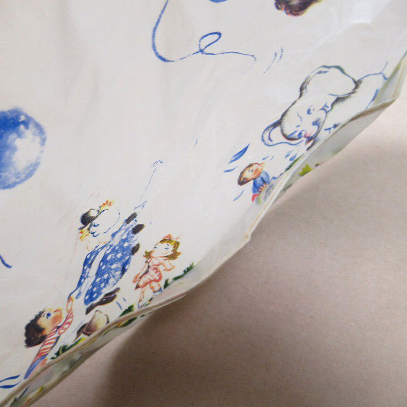 ベビー用ビブ ビニール製 50年代キッズ&アニマル【画像7】