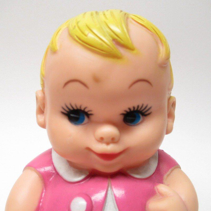 ラバードール 1968年 UNEEDA社 プラムピーズ ベビー ピンク【画像2】