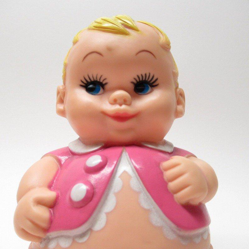 ラバードール 1968年 UNEEDA社 プラムピーズ ベビー ピンク【画像3】