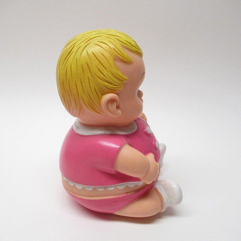 ラバードール 1968年 UNEEDA社 プラムピーズ ベビー ピンク【画像7】