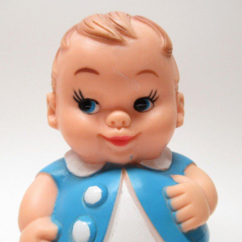 ラバードール 1968年 UNEEDA社 プラムピーズ ベビー 水色【画像2】