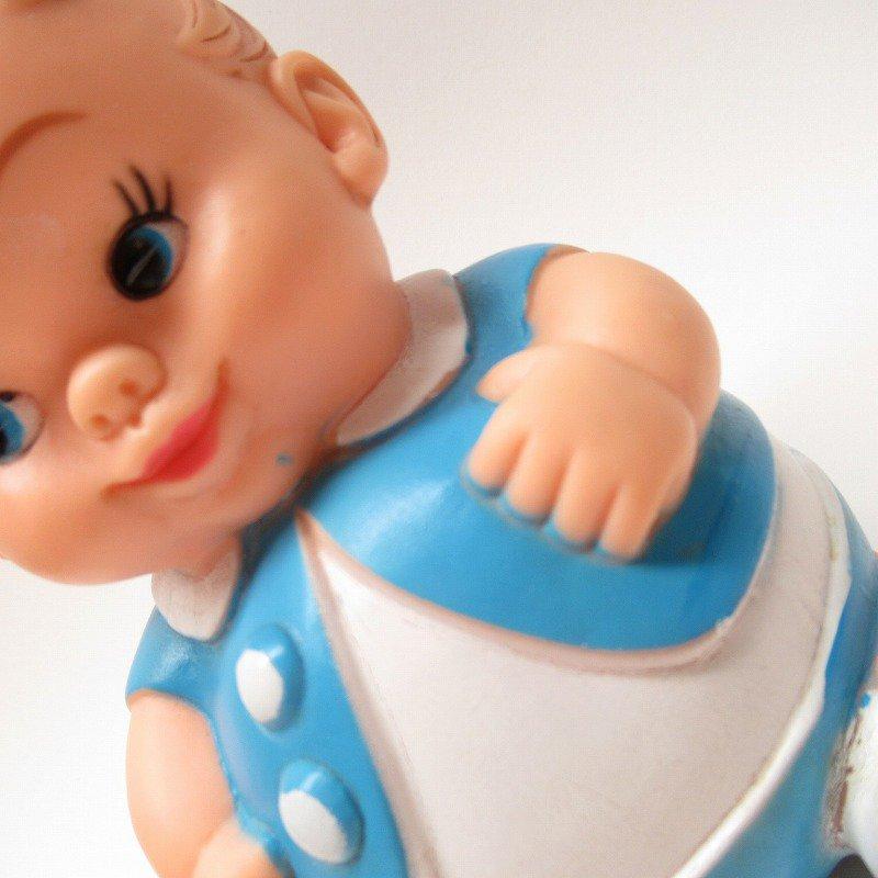 ラバードール 1968年 UNEEDA社 プラムピーズ ベビー 水色【画像4】
