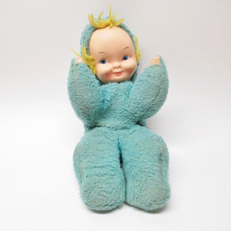 ラバーフェイスドール コモンウエルストイ社 赤ちゃん 青ボディ