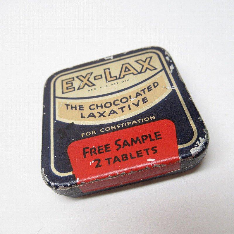ヴィンテージ EX-LAX ティン缶 S