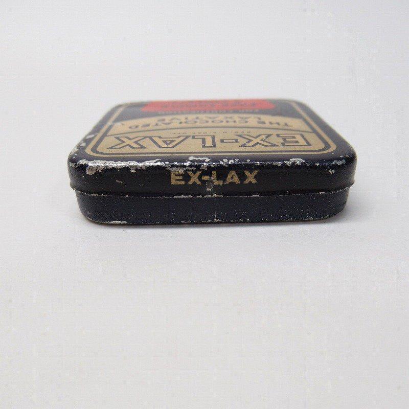 ヴィンテージ EX-LAX ティン缶 S【画像4】