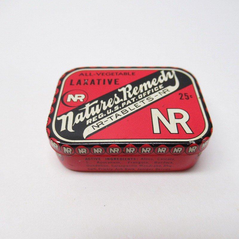 ヴィンテージ Natures Remedy ティン缶 S ミニTUMS広告入り【画像2】