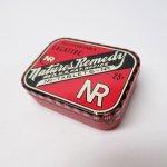 パッケージ&パッケージに味のある雑貨&チーズボックスなど  ヴィンテージ Natures Remedy ティン缶 S ミニTUMS広告入り
