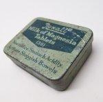 パッケージ&パッケージに味のある雑貨&チーズボックスなど  ヴィンテージ Rexall ティン缶 内側仕切り付き S
