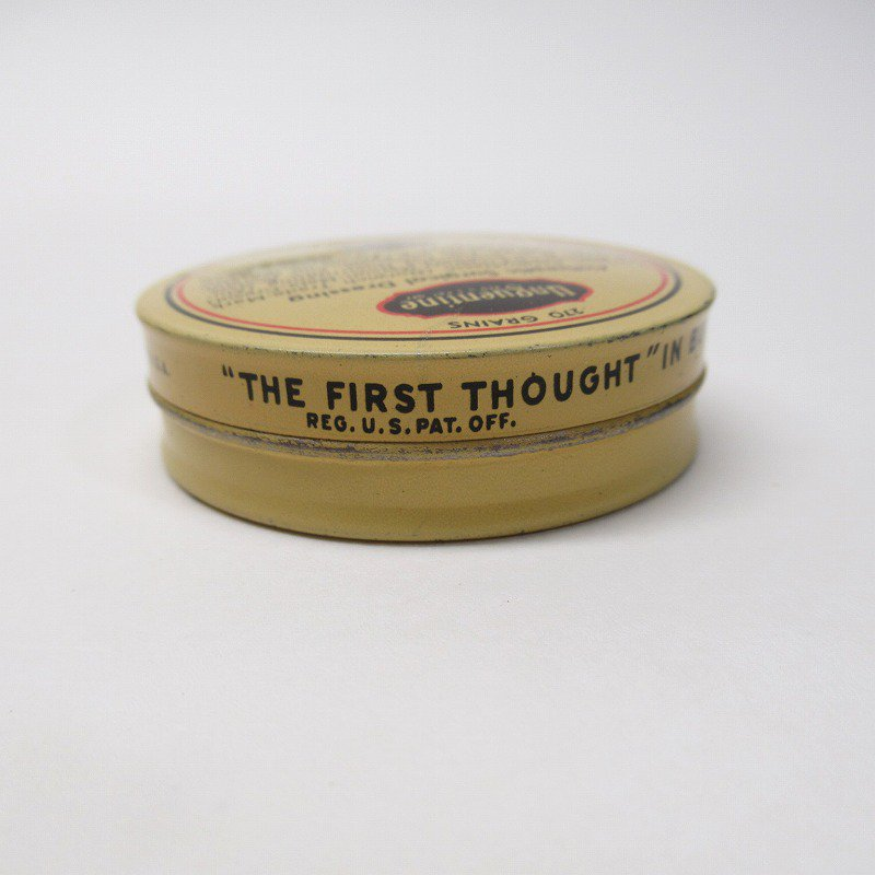 ヴィンテージ Unguentine 軟膏用ティン缶【画像5】