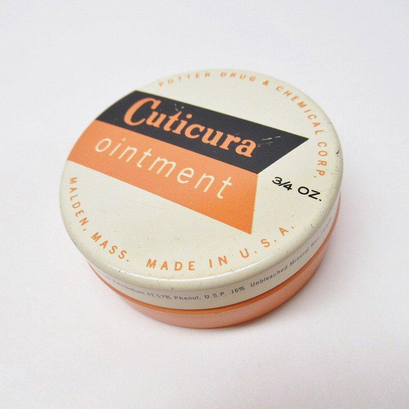 ヴィンテージ Cuticura 軟膏用ティン缶