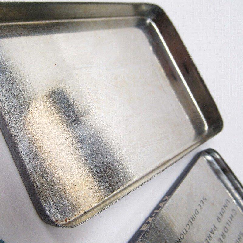 ヴィンテージ EX-LAX オリジナル使用上の説明書付き ティン缶 レギュラーサイズ【画像12】