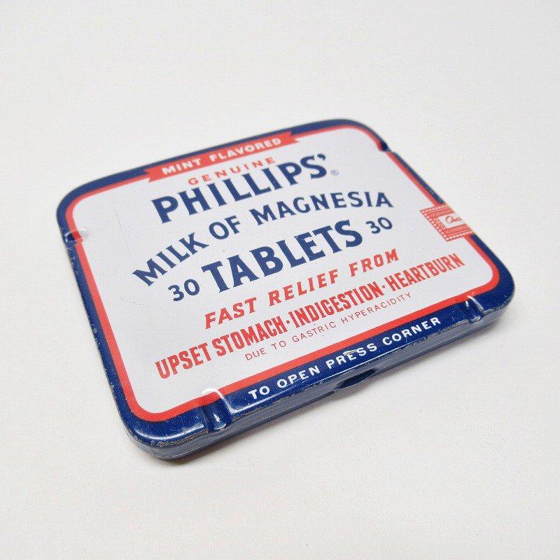 ヴィンテージ フィリップ社 オリジナル使用上の説明書付き ティン缶 レギュラーサイズ【画像2】