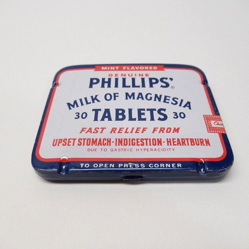 ヴィンテージ フィリップ社 オリジナル使用上の説明書付き ティン缶 レギュラーサイズ【画像3】
