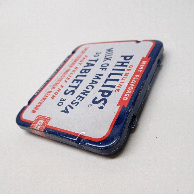 ヴィンテージ フィリップ社 オリジナル使用上の説明書付き ティン缶 レギュラーサイズ【画像5】