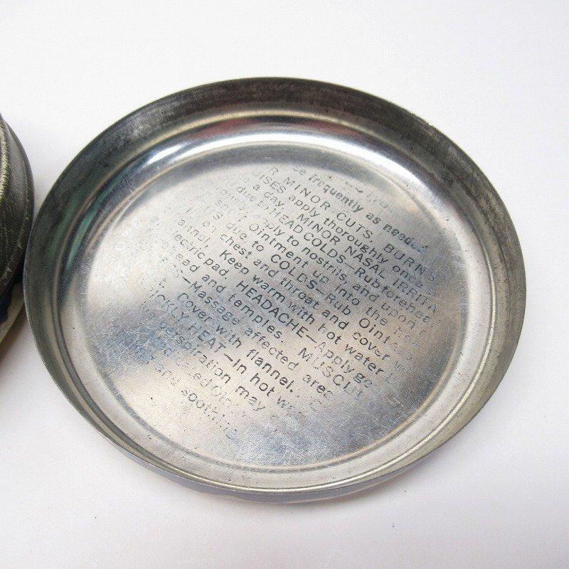 ヴィンテージ Rawleigh社 軟膏用 ティン缶 ラウンド型【画像8】
