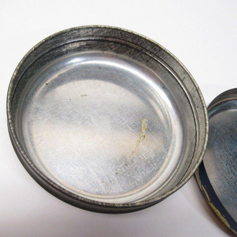 ヴィンテージ Rawleigh社 軟膏用 ティン缶 ラウンド型【画像9】