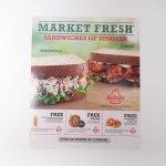 ブックス  アービーズ広告 Market Fresh