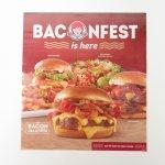 マガジン  ウエンディーズ広告 Baconfest