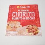マガジン  カールズジュニア広告 Chorizo