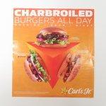 マガジン  カールズジュニア広告 Charbroiled Burgers