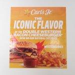 ブックス  カールズジュニア広告 Iconic Flavor