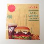 ブックス  カールズジュニア広告 Summer Classic