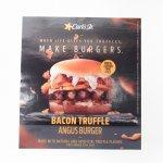 マガジン  カールズジュニア広告 Bacon Truffle