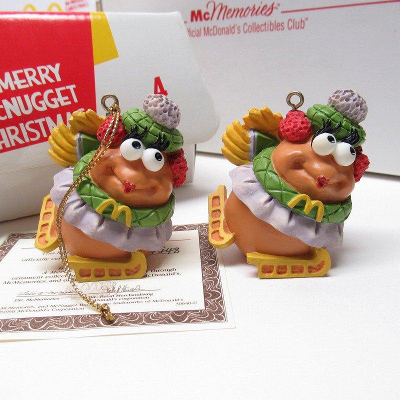 マクドナルド 1996年 クリスマス マックナゲット オーナメント Ice Princess【画像2】