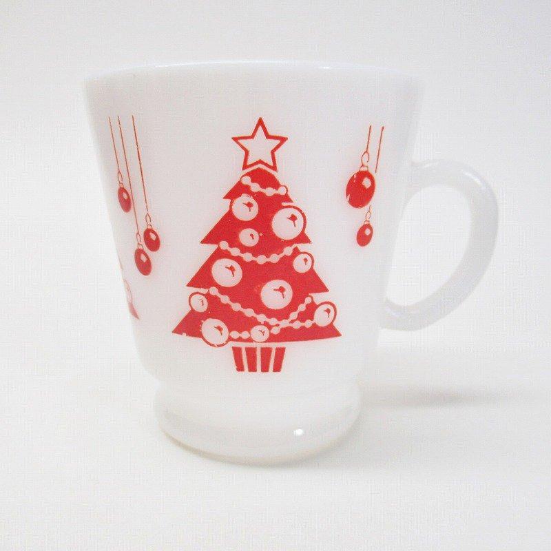 ヘーゼルアトラス フッテッド エッグノッグ クリスマスツリー マグ A