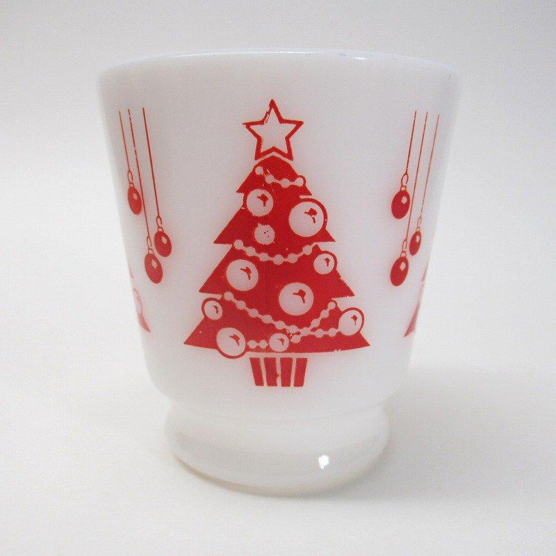 ヘーゼルアトラス フッテッド エッグノッグ クリスマスツリー マグ A【画像2】