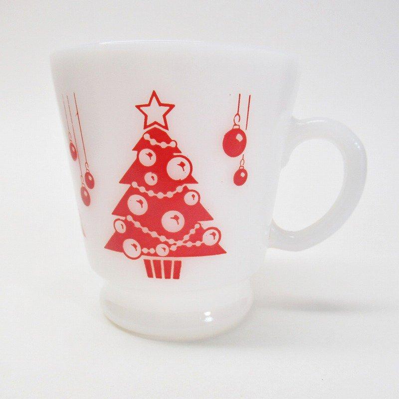 ヘーゼルアトラス フッテッド エッグノッグ クリスマスツリー マグ B