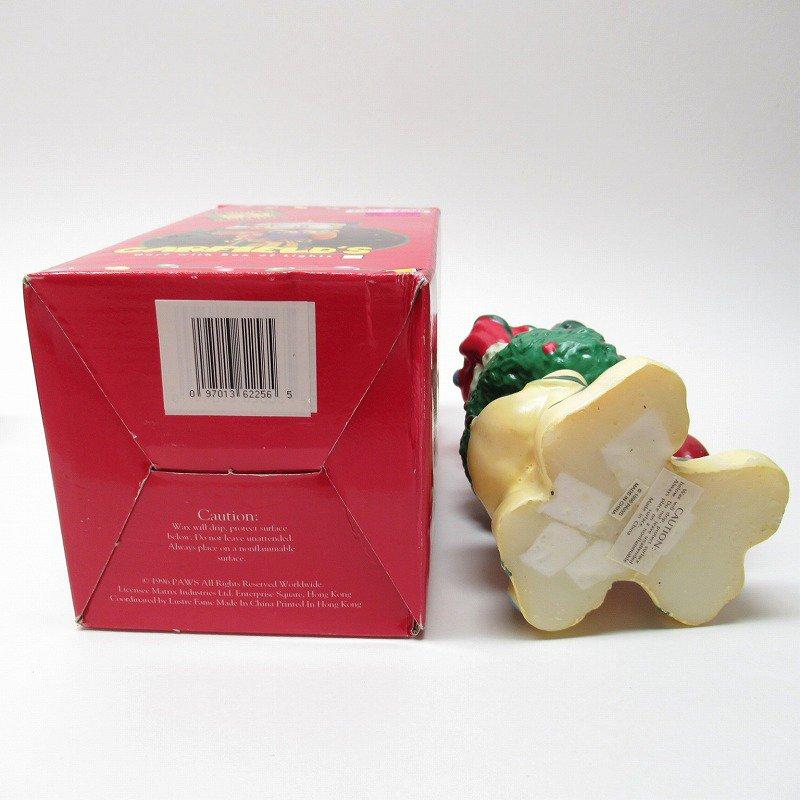 ガーフィールドの仲間 オーディーサンタ 90年代 クリスマス ビッグキャンドル 箱付き【画像6】