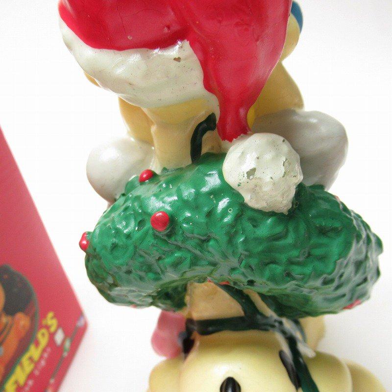 ガーフィールドの仲間 オーディーサンタ 90年代 クリスマス ビッグキャンドル 箱付き【画像8】