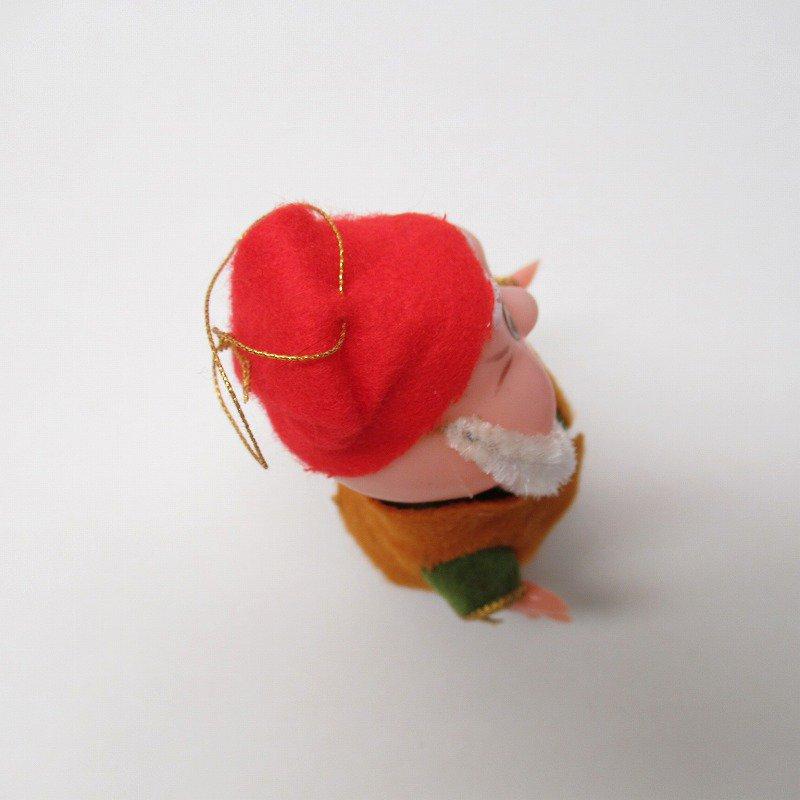 白雪姫の小人 HAPPY 1970年代 クリスマスオーナメント【画像6】