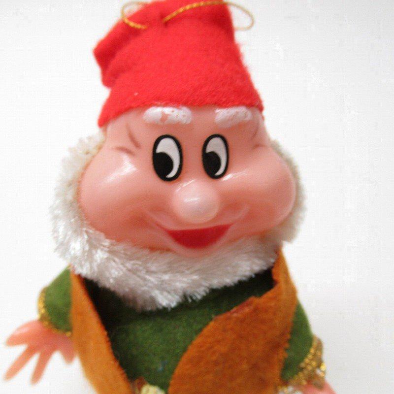 白雪姫の小人 HAPPY 1970年代 クリスマスオーナメント【画像10】