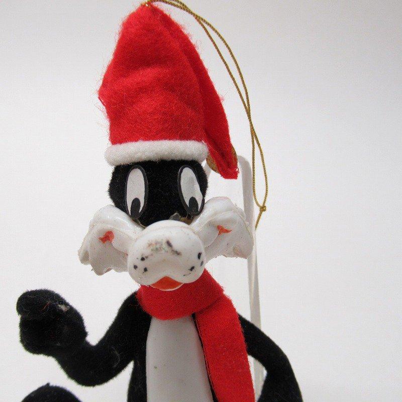 ルーニーチューンズ 1977年 シルベスター クリスマスオーナメント【画像2】
