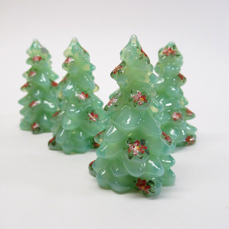 モッサーグラス Mosser Glass ジェダイ 2.75インチ ポインセチア クリスマスツリー
