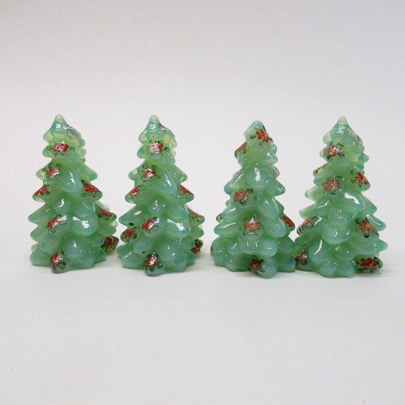 モッサーグラス Mosser Glass ジェダイ 2.75インチ ポインセチア クリスマスツリー【画像2】