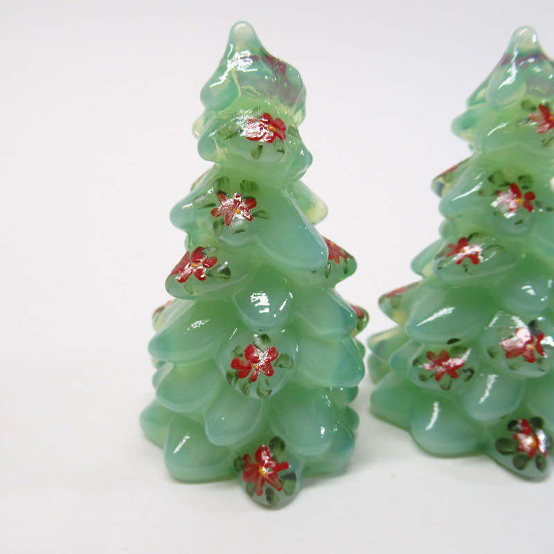 モッサーグラス Mosser Glass ジェダイ 2.75インチ ポインセチア クリスマスツリー【画像3】