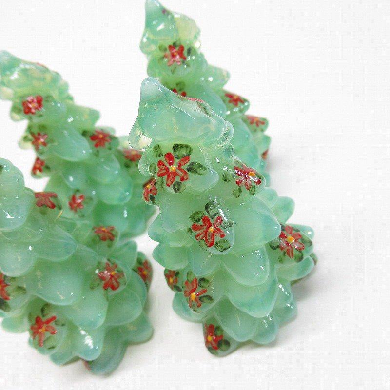モッサーグラス Mosser Glass ジェダイ 2.75インチ ポインセチア クリスマスツリー【画像5】