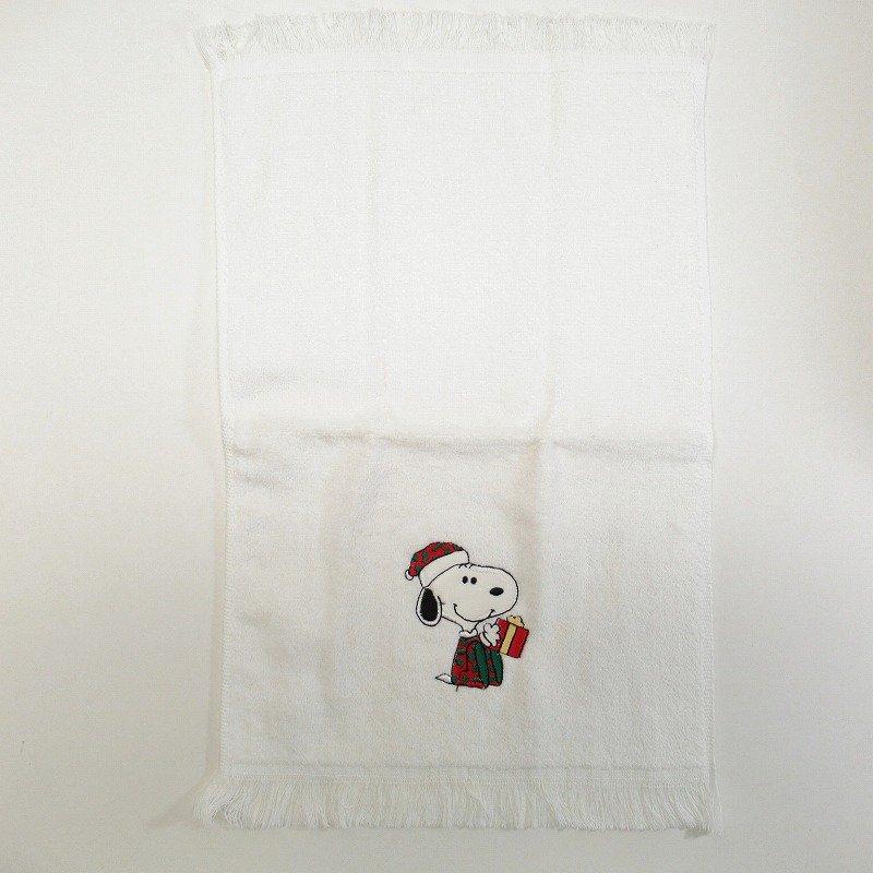 スヌーピー クリスマス TIPタオル 米国製デッドストック【画像4】