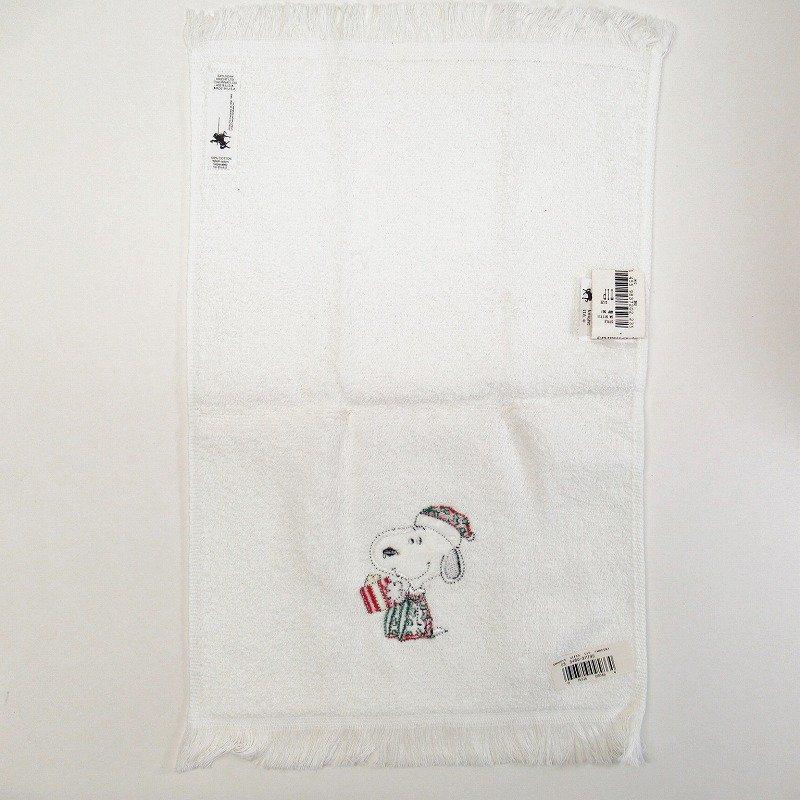 スヌーピー クリスマス TIPタオル 米国製デッドストック【画像5】