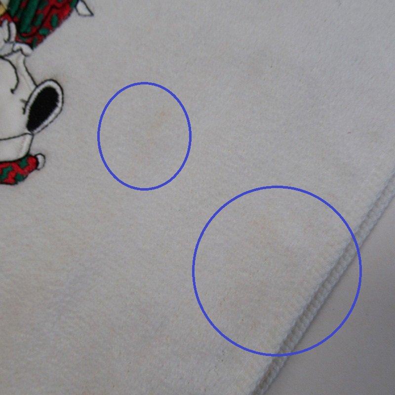 スヌーピー クリスマス TIPタオル 米国製デッドストック【画像8】