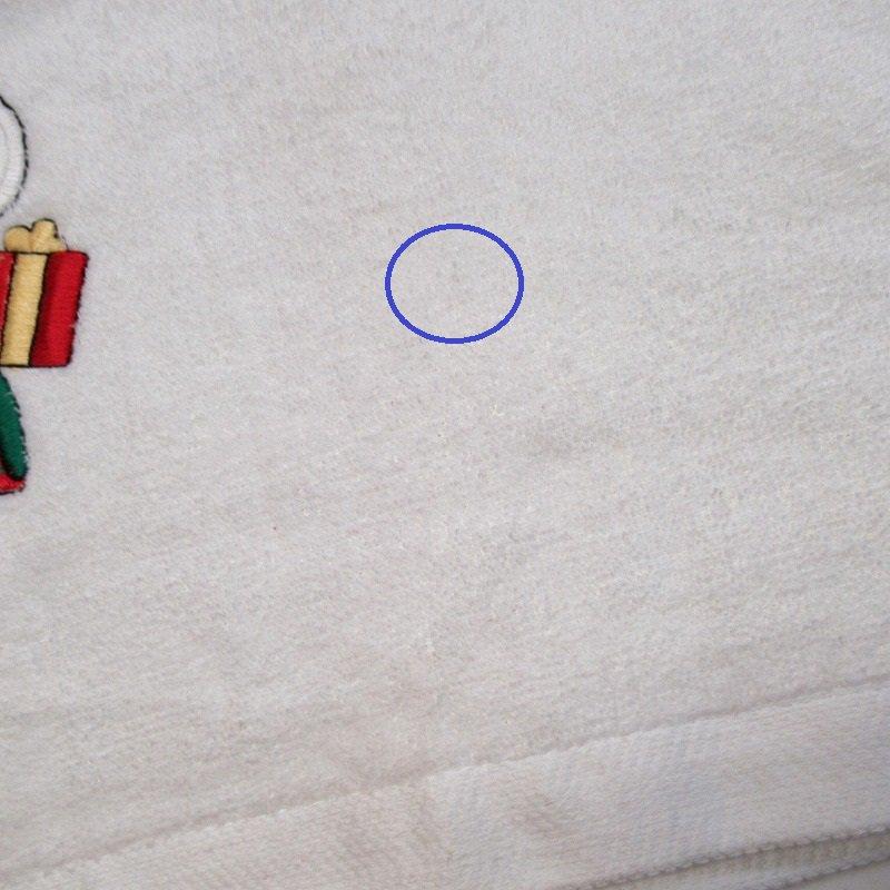 スヌーピー クリスマス バスタオル 米国製デッドストック【画像11】
