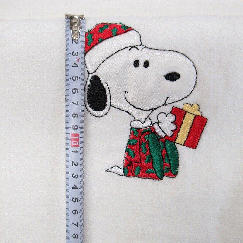 スヌーピー クリスマス バスタオル 米国製デッドストック【画像10】