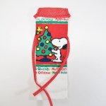 キャラクター・フィギュア・トイ・雑貨・販促商品  スヌーピー クリスマス キッチンタオル クリスマスツリー デッドストック ループ付き