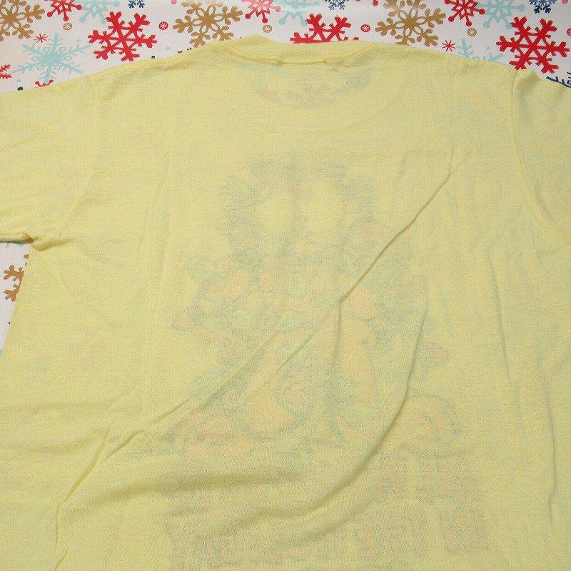 ガーフィールド 米国製デッドストック レディス用 Mサイズ クリスマスTシャツ 各色【画像4】