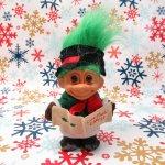 キャラクター  トロール人形 クリスマスキャロル